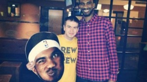 denver nuggets tweet up corey brewer