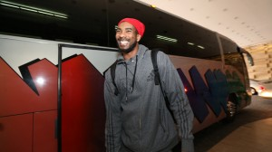 MInnesota Timberwolves Arrive at Hotel in Mexico City