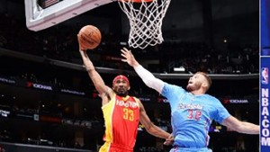 Corey Brewer has been the second scorer the Rockets have needed lately. He scored 17 straight points for the Rockets late in a close loss to the Blazers earlier in the week. Sunday he dunked all over Blake Griffin.