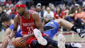 Corey Brewer paced the Rockets with 20 points versus the Orlando Magic Sunday night.